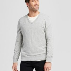 Goodfellow gray v-neck pullover sweater